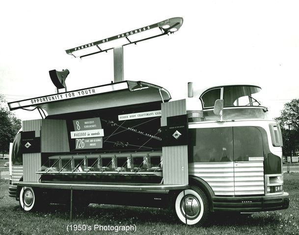 1950 General Motors Futurliner Tour Bus Holy Grailz
