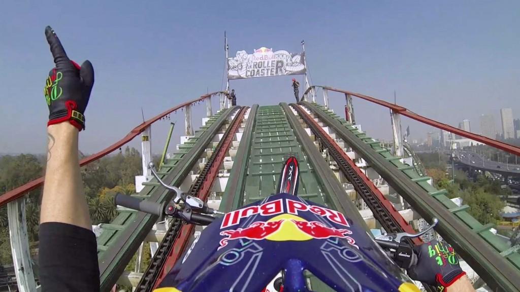 moto redbull roller coaster