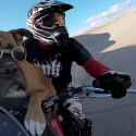 Lexus the Dirt Bike Dog with GoPro