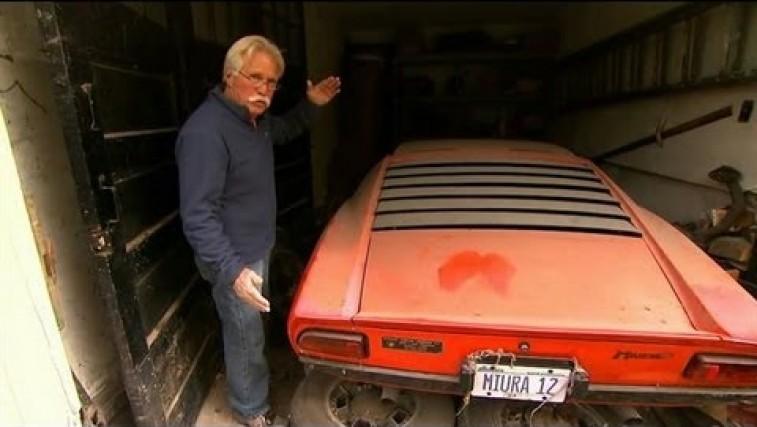 Incredible Lamborghini Barn Find
