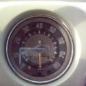 1966 vw split window bus 4th gear test run with vintage speed