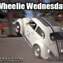 Herbie the Love Bug Wheelie